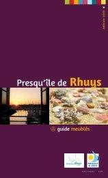 Guide 2013 des locations - Office de Tourisme de Saint-Gildas de ...