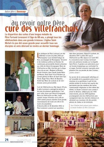 curé des villefranchois - Villefranche-sur-Mer