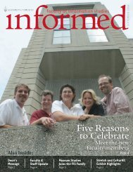 Fall 2006 - Faculty of Information - University of Toronto