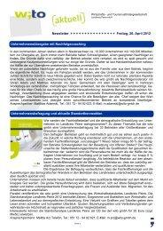 2012 - Ausgabe 1 - Wirtschafts- und Tourismusfördergesellschaft ...