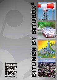 Biturox® Multigrade Bitumen - Pörner Group