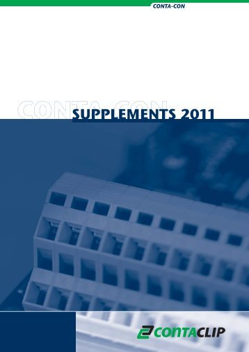 SUPPLEMENTS 2011 - CONTA-CLIP