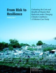 Evaluating the Costs and Benefits of Disaster Risk Reduction