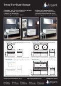 Argent Trend Furniture Range - Page 2