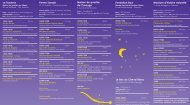 Programme Nuit du Conte 2012 - Onex