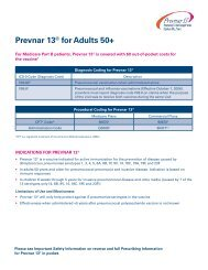 Prevnar 13® for Adults 50+ - PfizerPro