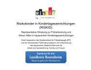 Landkreis Rosenheim - Arbeitsstelle Frühförderung Bayern