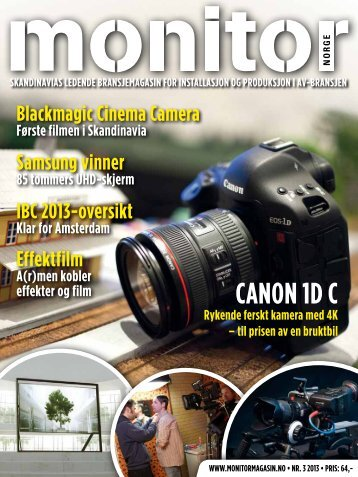 CANON 1D C - Monitormagasin
