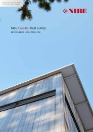 NIBE Air/water Heat pumps - Greenworks