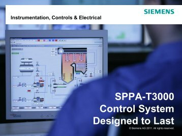 SPPA-T3000 Control System Designed to last - ICCI