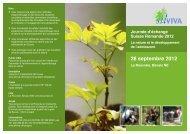 28 septembre 2012 - Education à l'environnement en Suisse