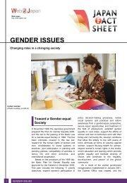 Gender Issues - Web Japan