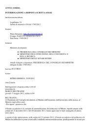 Interrogazione a risposta scritta 4-16142 - Federazione Esperantista ...