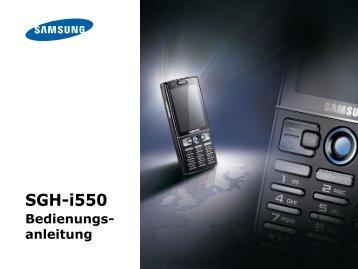 Samsung-I550-Bedienungsanleitung.pdf herunterladen - Fonmarkt.de