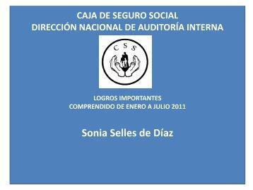Proyectos Dirección Nacional de Auditoría Interna - Caja del Seguro ...