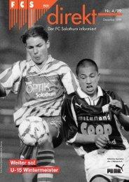 00 FCSdirekt 4/99 mv - FC Solothurn
