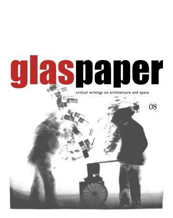 ON INDUSTRIALISATION - Glaspaper