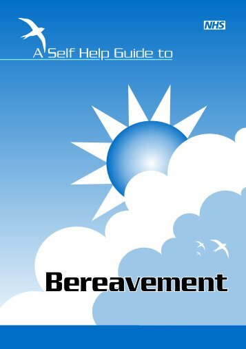 Coping with Bereavement and Grief - NHS Manchester