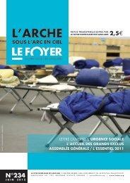 Juin 2012 n°234 - Foyer Notre-Dame des Sans-Abri