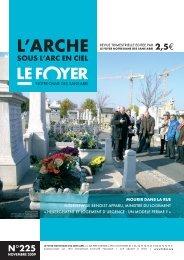 Novembre 2009 n°225 - Foyer Notre-Dame des Sans-Abri