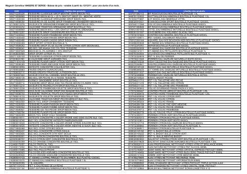 Fichier Pdf Baisse Des Prix Complet Du 121211 Carrefour