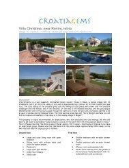 Villa Christina, near Rovinj, Istria - Croatia Gems