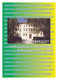 Jahresbericht_VS2_Feldkirchen_2013 - VS 2 Feldkirchen