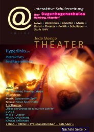 Interaktive Schülerzeitung - Bugenhagen-Schulen