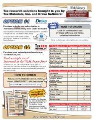 WebLibrary - Drake Software