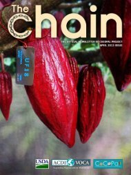 CoCoPal - The Chain: April 2013 (PDF, 1 MB) - ACDI/VOCA