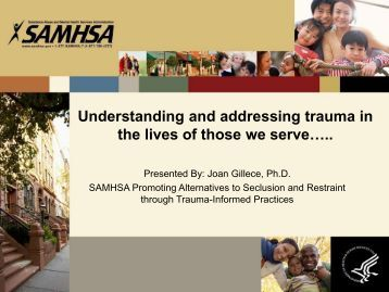 What is Trauma and Why We Must Address It! - Pennsylvania ...