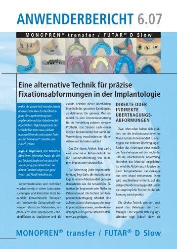 Anwenderbericht eine alternative Technik - Kettenbach GmbH & Co ...