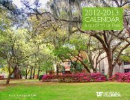 2012-2013 Student Calendar & Guide to UF Law [4 MB PDF]