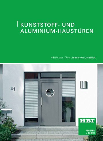 modellreihe 100 - HBI Holz-Bau-Industrie GmbH & Co. KG