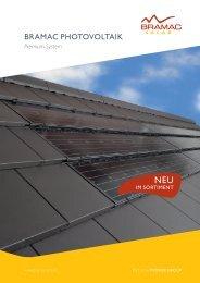 Bramac Photovoltaik Premium-System - Bau Docu Österreich