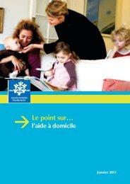 Le point sur l'aide à domicile - Caf.fr
