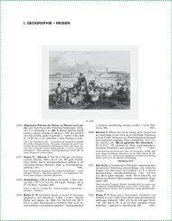 I. GEOGRAPHIE – REISEN - Reiss & Sohn oHG