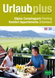 Komfort Appartements - 50plus Urlaub im Zirbenland / Steiermark
