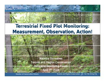 Terrestrial Fixed Monitoring Plots - N Goncalves.pdf - Toronto and ...