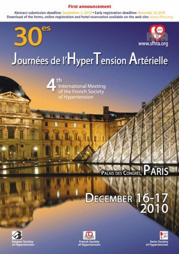 Friday december 17, 2010 FRENCH SOCIETY OF ... - FBMI