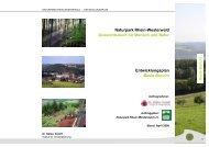 Naturpark Rhein-Westerwald Aussichtsreich für Mensch und Natur