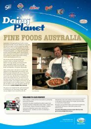 Dairy Planet Issue 25 - Fonterra Foodservices
