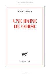 Téléchargement Une-haine-de-corse-extrait distribué par Editions ...