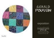 Gerald POUSSIN - Société Suisse des Beaux-Arts