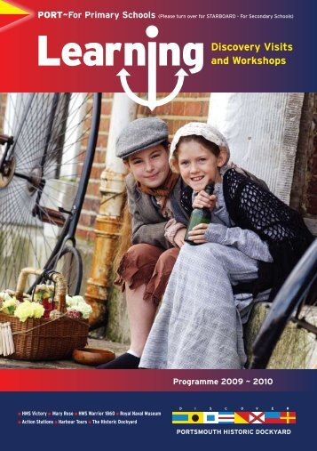 Discovery Visits and Workshops - Portsmouth Historic Dockyard
