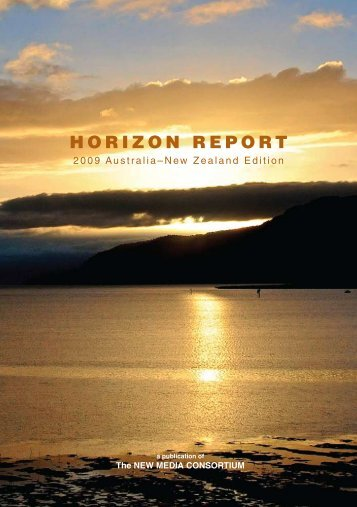 Horizon Report: 2009 Australia - New Zealand edition