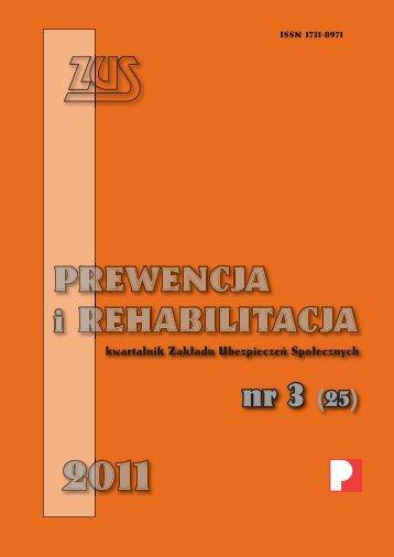 Prewencja i rehabilitacja 3/2011