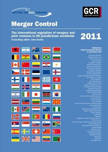 Merger Control 2011 South Africa - Bowman Gilfillan Attorneys