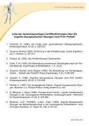 Liste deutschsprachiger Veröffentlichungen - Stand: März 2010