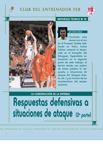 RESPUESTAS DEFENSIVAS - FAB Huelva